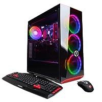 CYBERPOWERPC Gamer Xtreme VR GXiVR8060A5 Desktop Gaming PC (Intel i5-8400 2.8GHz, 8GB DDR4, NVIDIA GeForce GTX 1060 3GB, 120GB SSD+1TB HDD & Win 10 Home) Black