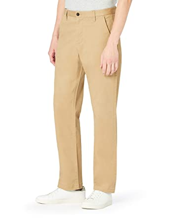 MERAKI Herren Baumwoll Regular Fit Chino Hose  Amazon.de  Bekleidung 01d3e93b73