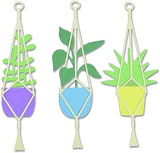 Sizzix Hanging Planter Die 663321    Sizzix Rain Boot Planter Die set 663322