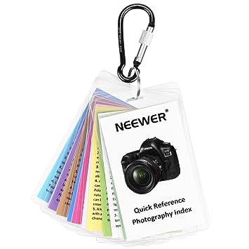 Neewer Kit de Tarjetas de Consejos: Amazon.es: Electrónica