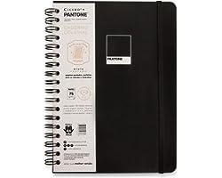 Caderno Wire-o Pantone Pautado, Cicero, 4776, 18x24, Preto, grande