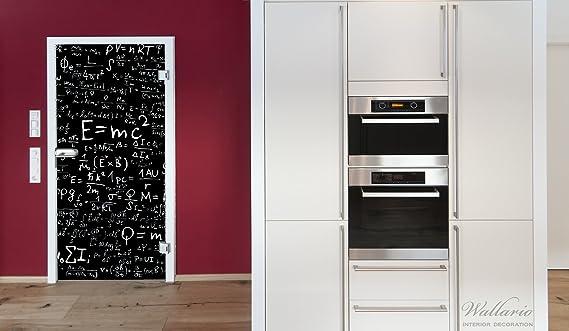 Papel autoadhesivas fórmulas matemáticas - 93 x 205 cm color-Calidad: limpiar, colores intensos, no deja hacer: Amazon.es: Juguetes y juegos
