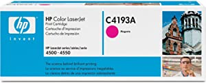 30 Pack 30 Toners Magenta HP Hewlett Packard C4193A HP 4500/4550 Toner Cartridge for HP Color Laserjet 4500 & 4550 Printers Cartridge Copier Cart Printer Inks Ink Toners Printer Copy Machine Refill