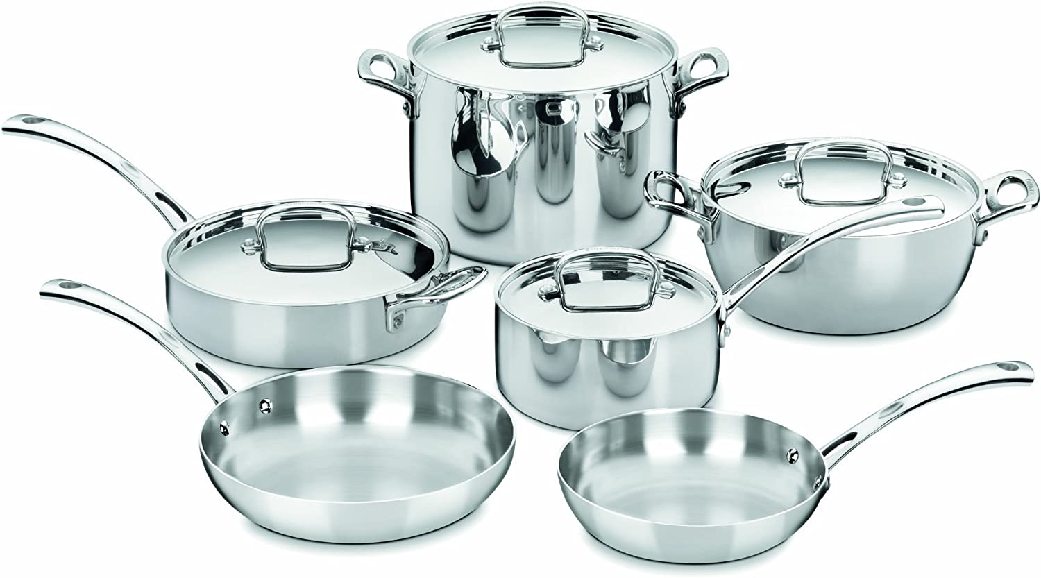 "5 Best Cuisinart Pots And Pans: ""5 Tips In Reviews""."
