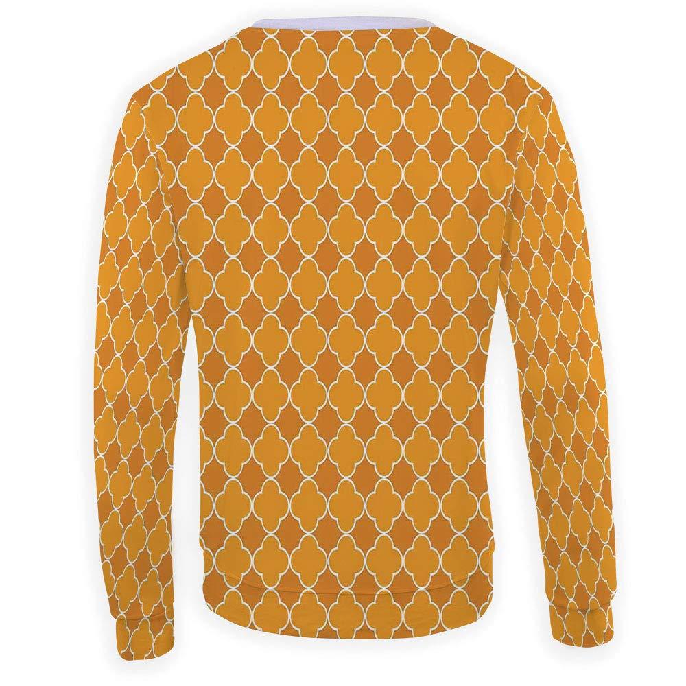 Unisex Purple Mandala Sweatshirts Crewneck