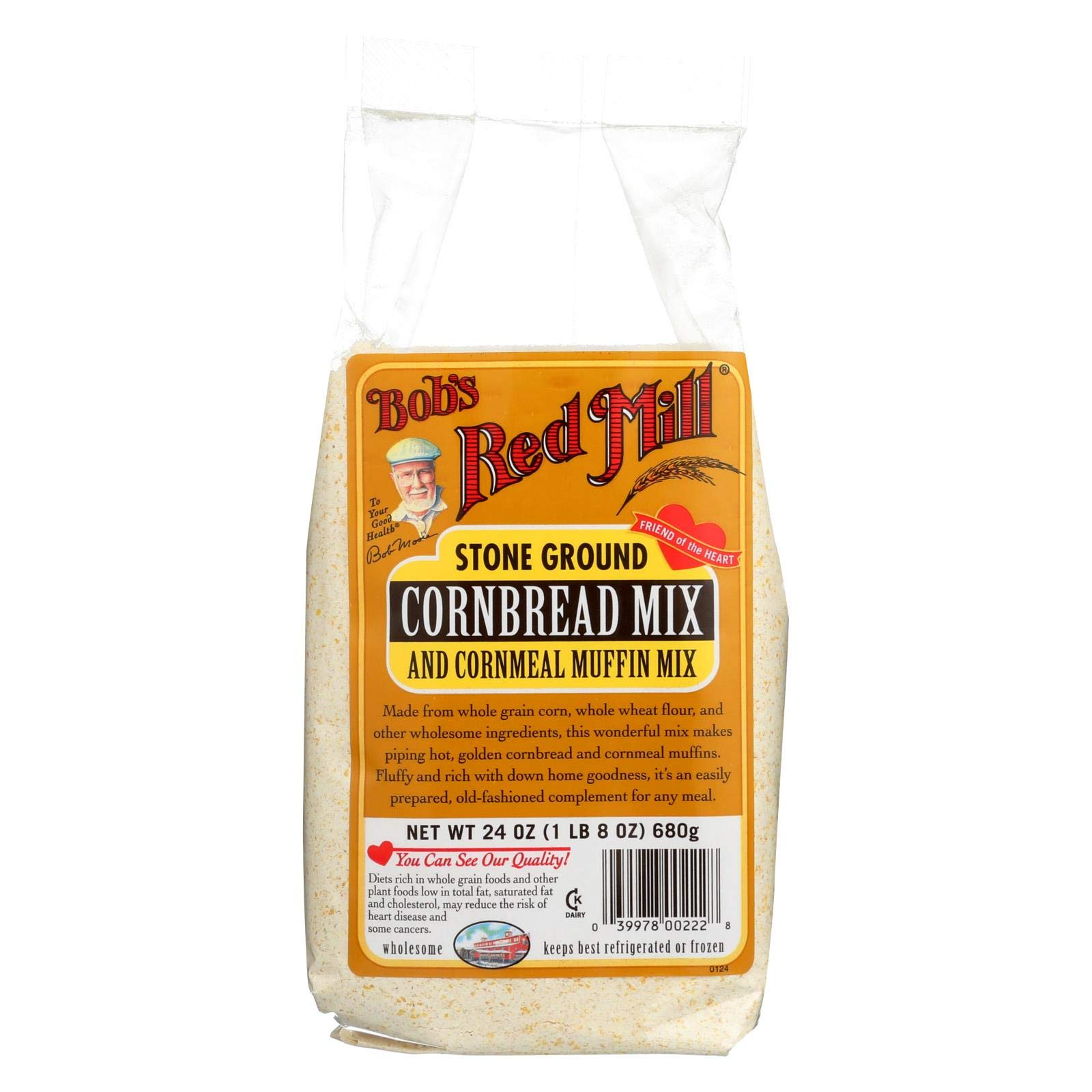 Bob's Red Mill Muffin Mix Cornbread, 24-Ounce (Pack of 4) by Bob's Red Mill