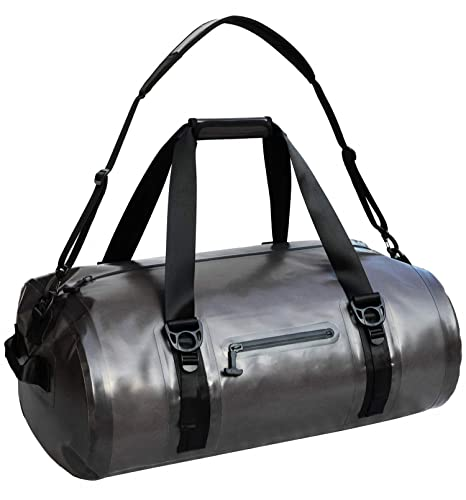 7b5fd855cb02 MIER Waterproof Duffel Bag Airtight Dry Bag for Kayaking, Boating, Beach,  Rafting, Motorcycle, Travel, Hiking, Camping, Outdoor Adventure, 40L 90L,  ...