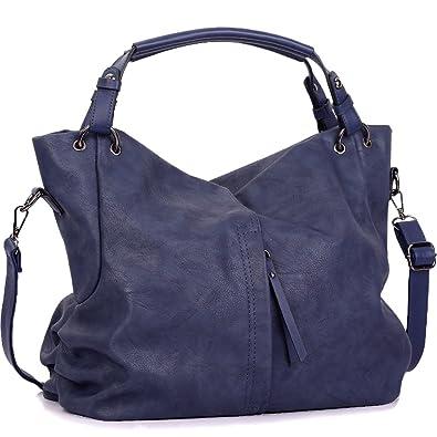 d87b409e53c49 WISHESGEM Handtaschen Damen Taschen Hobo Umhängetaschen Schultertaschen Handtaschen  PU-Leder Henkeltaschen Modernes 36cm(L