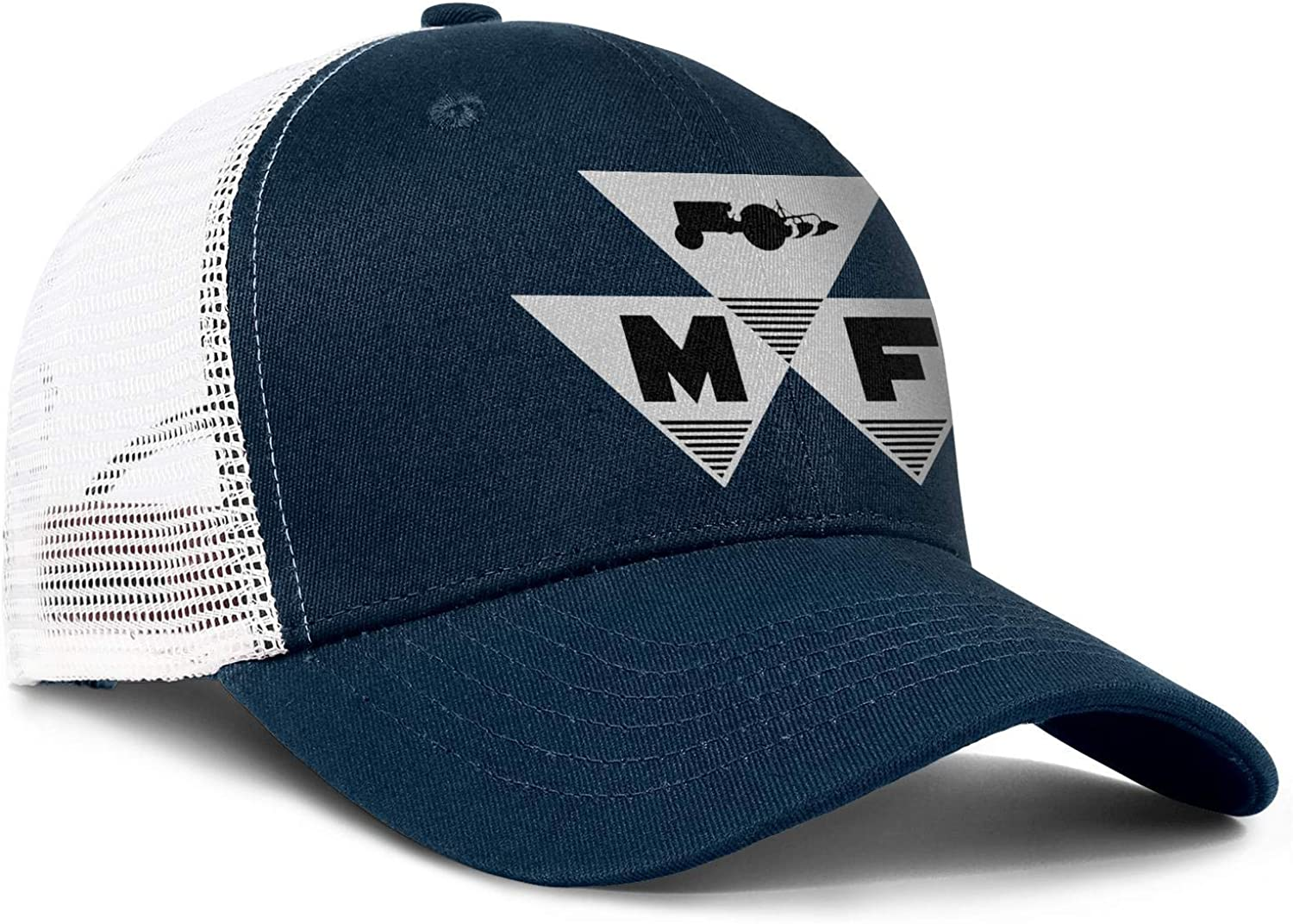 coolgood All Cotton Baseball Caps Massey-Ferguson Snapback Adjustable Mesh Hats
