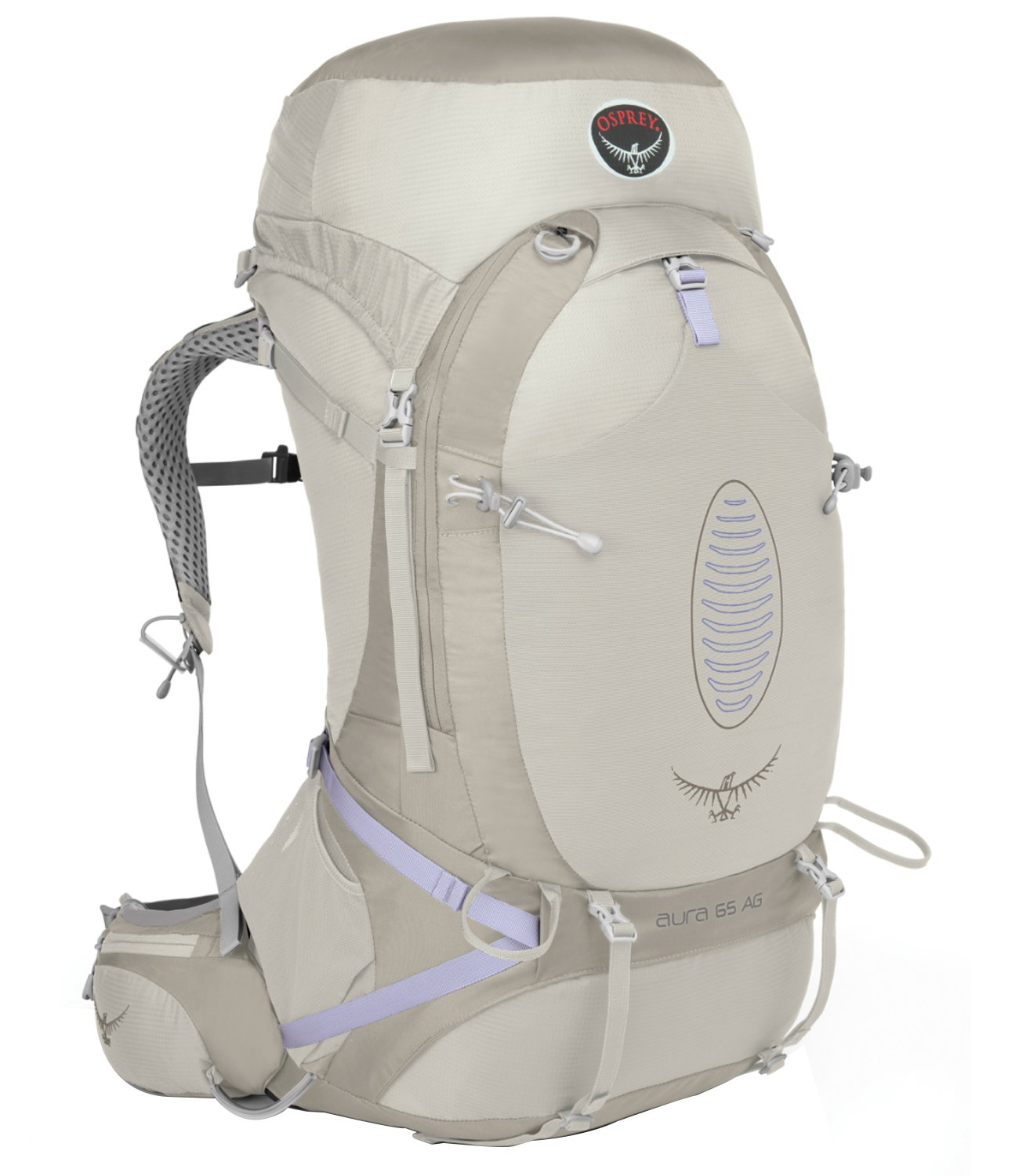 Osprey Aura AG 50 Women s Backpack WS Womens Silver Streak ...
