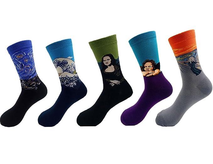 Underwear & Sleepwears High Quality Combed Cotton Socks Animal Pattern Long Tube Funny Happy Men Socks Novelty Skateboard Crew Casual Crazy Socks