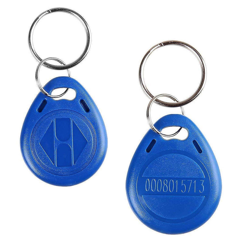 100/unidades de color azul con identificaci/ón de proximidad RFID EM4100,/EM4102,/125/KHz Llaveros gen/éricos