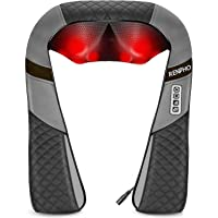 Back Neck Massager with Heat, RENPHO Shiatsu Shoulder Massager with Electric Deep Tissue Kneading Massage, Pain Relief…