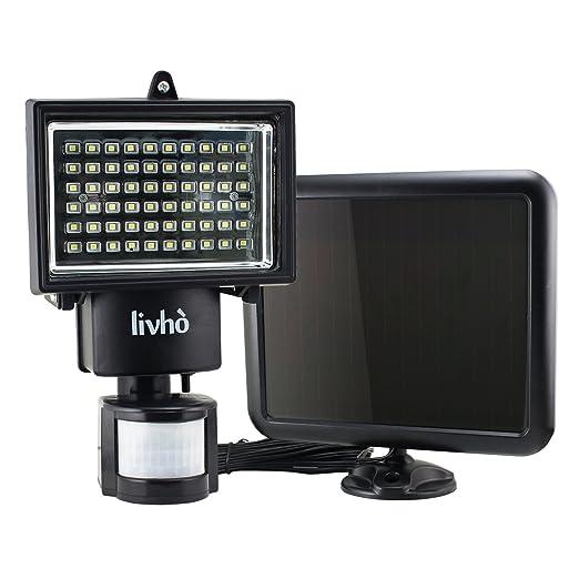 140 opinioni per Livhò Faro Ad Energia Solare 60 LED, con Pannello Solare Separato