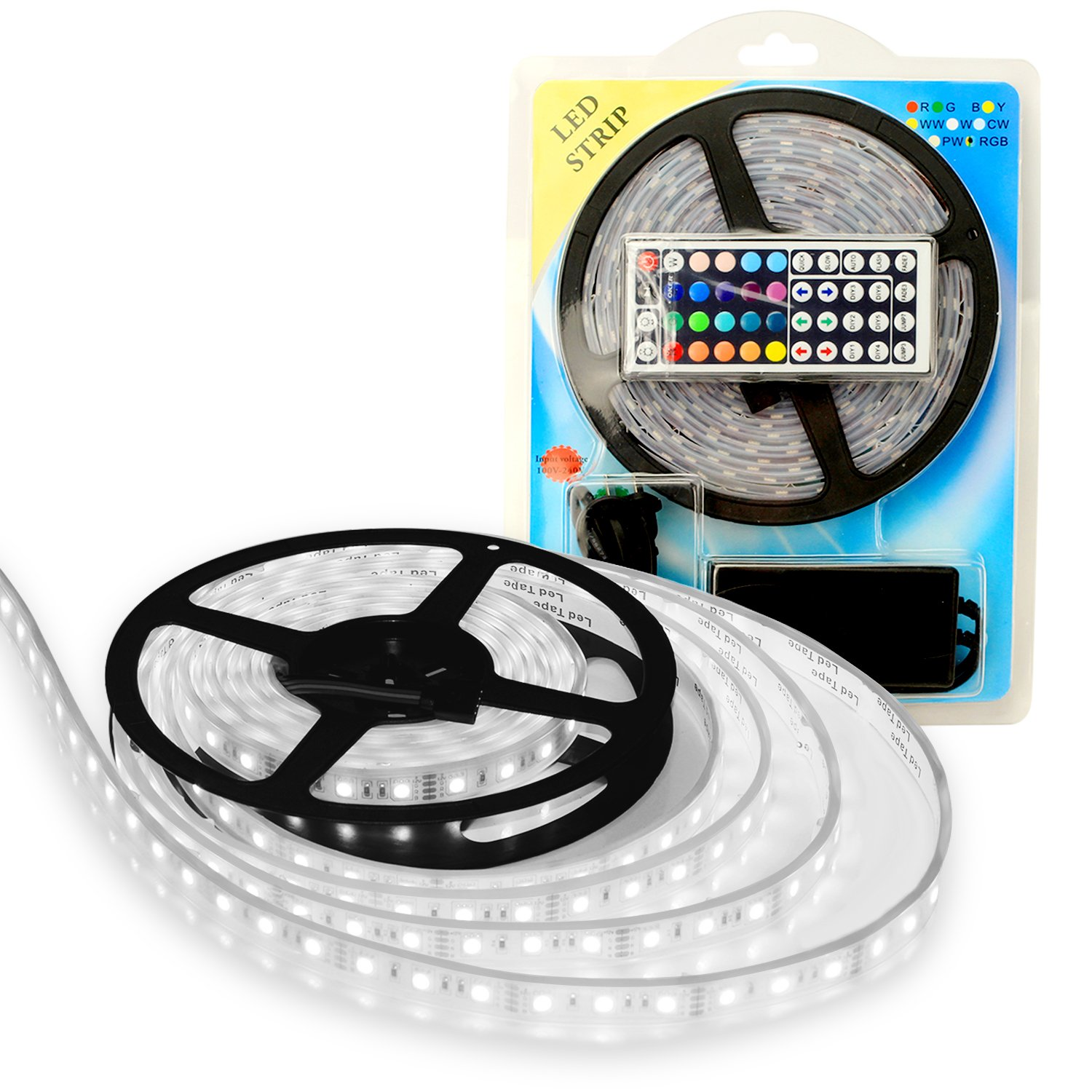 Amazon lightplus 164 ft 5m rgb led strip flexible 300 amazon lightplus 164 ft 5m rgb led strip flexible 300 leds color changing rgb smd5050 led light strip powerful bright and long lasting lights mozeypictures Choice Image