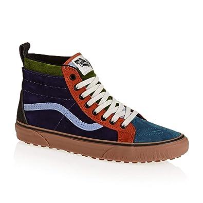 1d86841591 Vans Sk8-hi Mte -Fall 2018-(VN0A33TXUC51) - (mte) Medieval Blue lavender  Lustre - 11  Amazon.co.uk  Shoes   Bags