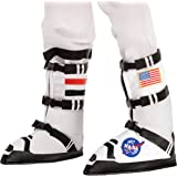 Astronaut NASA Pilot Costume Boots for Kids Halloween Trick or Treat Party Favors Dress Up
