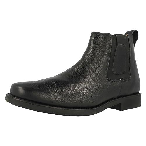 e1b5e0e8a Anatomic Gel Natal - Botines chelsea de cuero hombre  Amazon.es  Zapatos y  complementos