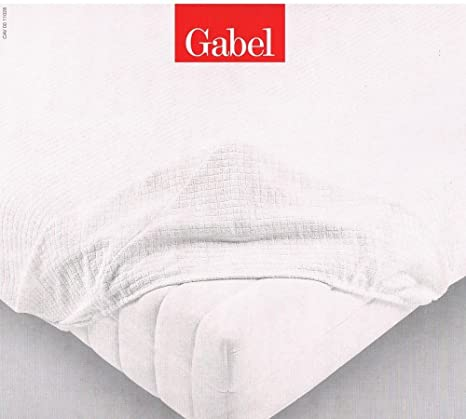 Gabel - Cubrecolchones para cama de matrimonio, tejido muy extensible (175 x 200 +