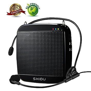 Amplificateur De Voix Shidu Mini Amplificateur De Voix Avec