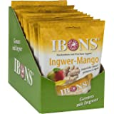 IBONS Kaubonbons 10 x 92 g (Ingwer-Mango)