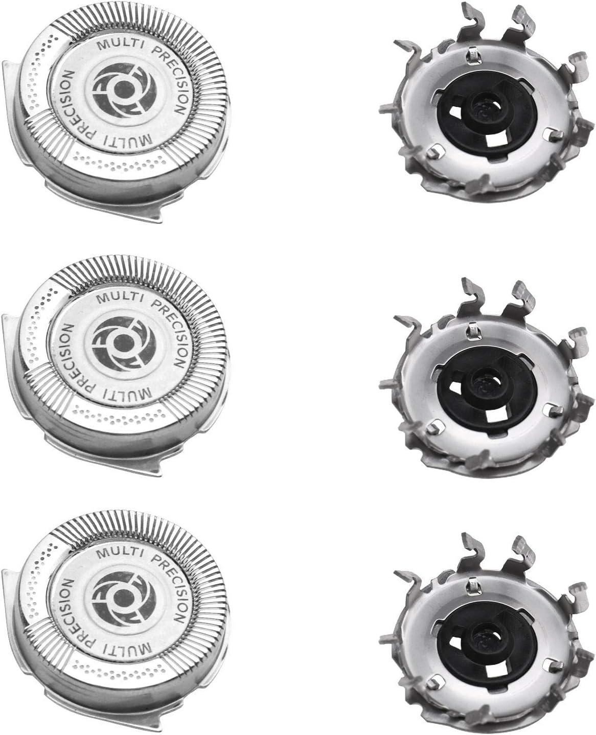 ENET HQ8 - Cabezales de Afeitado de Repuesto para Philips Norelco SH50 Series S5570 S5560 S5370 S5230 3X: Amazon.es ...