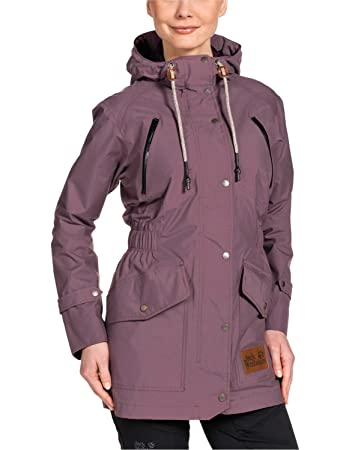 quality design 097a3 45963 Jack Wolfskin Damen Mantel Bunda Texapore Coat W
