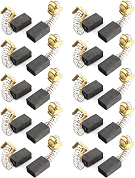 20PCS 5x8x11mm Motor Carbon Brushes Spring Power Electric Grinder Drill Hammer