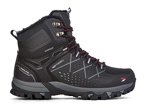 Yellow Shoes - Pulsar - Mens Winter Boots - Black - Size   13 ... 8806c122e