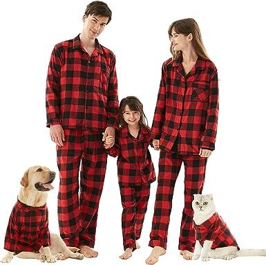 Conjunto de pijamas familiares a juego de Navidad, 2 piezas ...