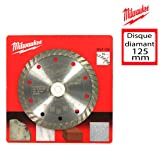 Milwaukee 4002395361748 Lame Diamant DUT, Multicolore