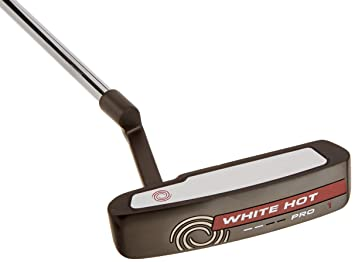 Amazon.com: Odyssey White Hot Pro 2.0 - Putter, color negro ...
