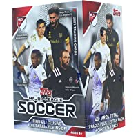 2021 Topps MLS Soccer Blaster Box of Packs with 4 Exclusive Foil Parallel Cards photo
