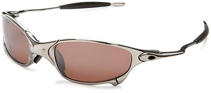 61101676a4f Image Unavailable. Image not available for. Colour  Oakley Men s Juliet  Iridium Polished Polarzied Sunglasses