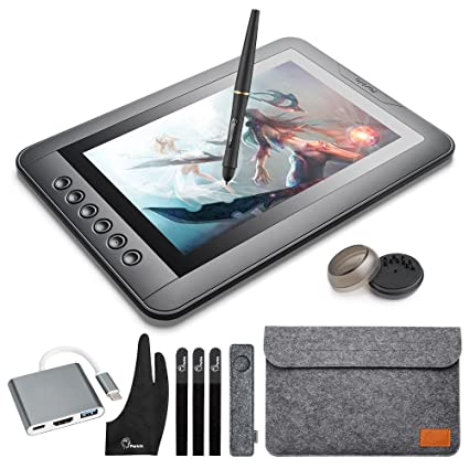 amazon com parblo mast10 10 1 graphic tablet drawing monitor with