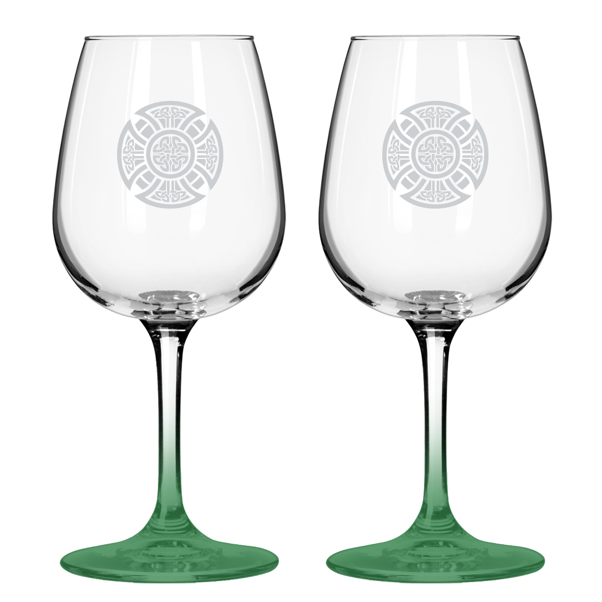 Boelter Brands ''Celtic'' Wine Glass, 12-ounce, 2-Pack
