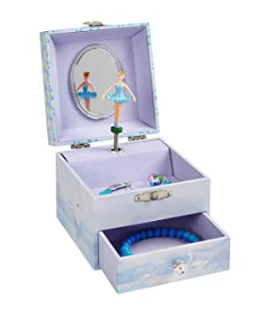 Amazoncom JewelKeeper Musical Ballerina Jewelry Box Stars and