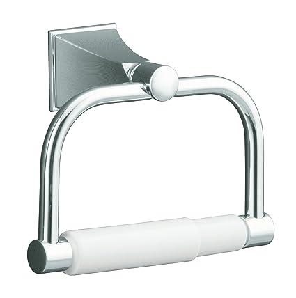 KOHLER K 490 CP Memoirs Toilet Tissue Holder With Stately Design, Polished  Chrome