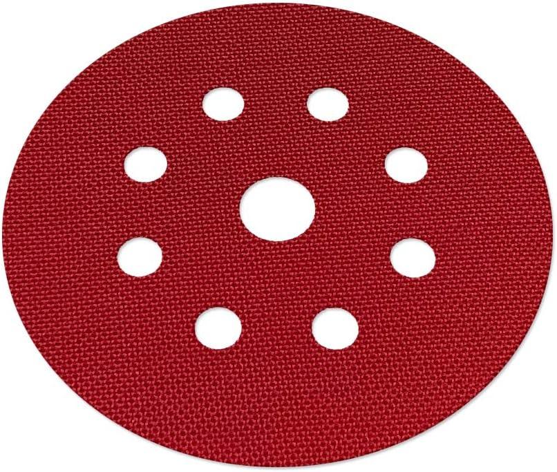 Ø 125mm Haftgewebe für Schleifteller Stützteller 10 Stück Ersatzscheiben Klett