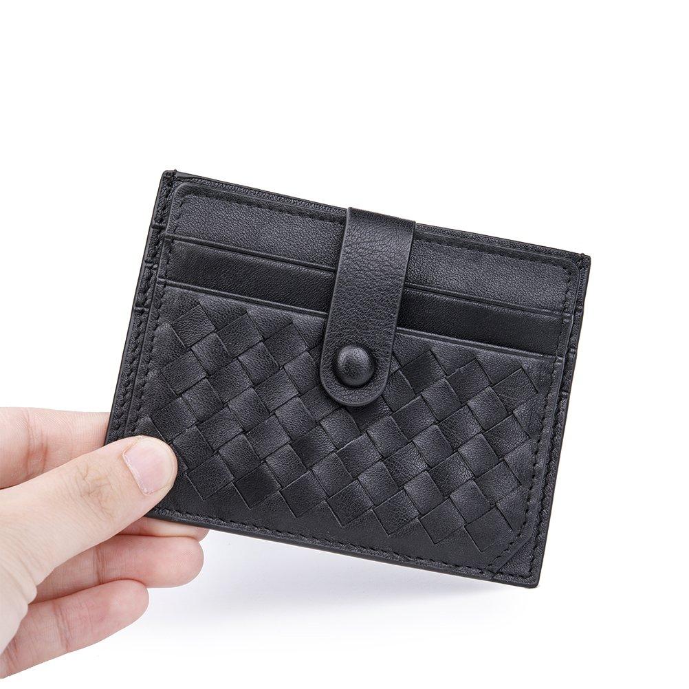 2c4c03084331 CashNox Porte Homme Cuir véritable Portefeuille, Porte Cartes Cuir Anti  Rfid - Etui Carte d Identité avec ...