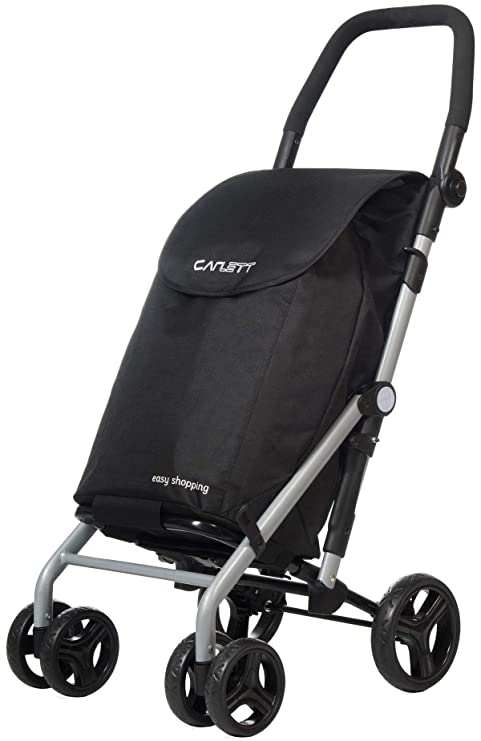 Carlett Carro de la Compra LETT 430 (Color negro) freno, hierro, 110