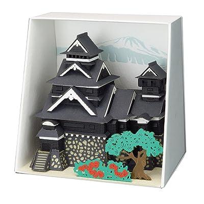 KAWADA Paper Nano Kumamoto Castle PN-133: Toys & Games