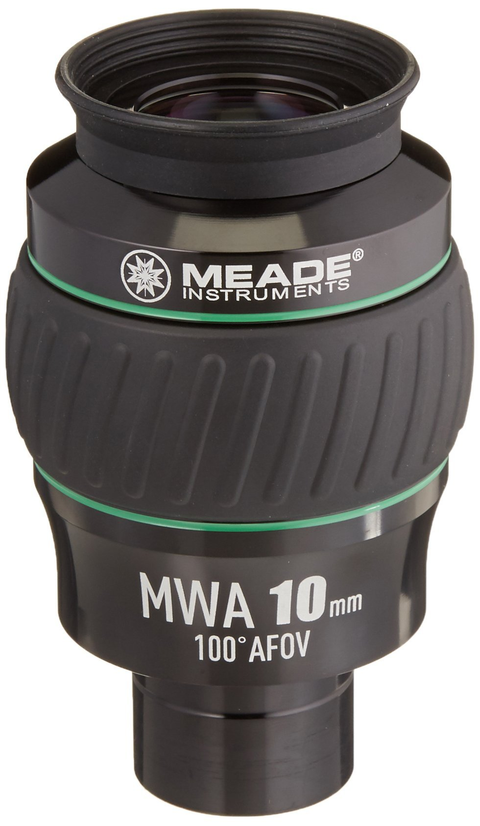 Meade Instruments 607016 Eyepiece, 100 Degree, MWA 10MM, 1.25-Inch (Black/Green) by Meade Instruments
