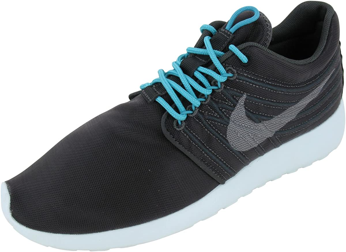 Nike Men's Rosherun DYN FW QS Night Stadium Medium Grey-Sport Turquoise-Black 580579-030 Shoe