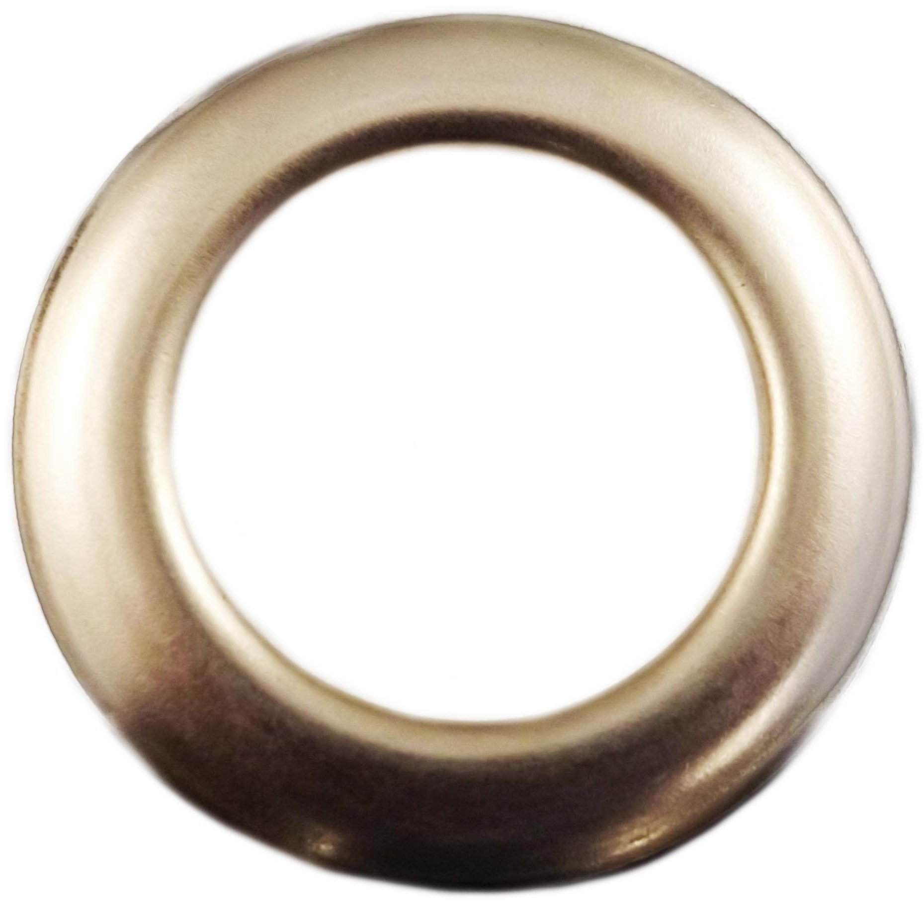 Large Nickel Metal Curtain Drapery Hardware Supplies #12 - 1 9/16 inch Inner Diameter Decorative Grommet/Rings w/Washer Eyelet Lot of 10 / 25 / 50 / 100 pcs (Pack of 50) by Lushes Curtains