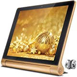 iBall Slide Brace X1 4G Tablet (10.1 inch, 16GB, Wi-Fi + 4G LTE + Voice Calling), Bronze Gold