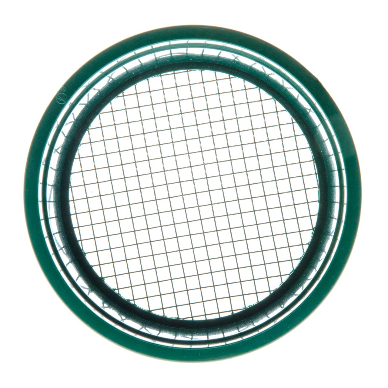 """SE GP4-625 5-7//8/"""" Mini Stackable Sifting Pan with 16 Holes//Square Inch"""