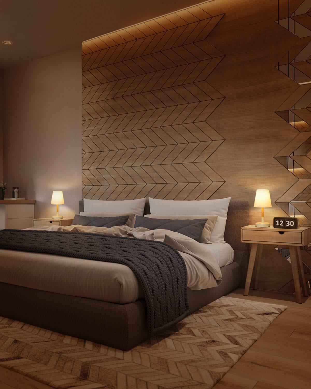 Beige Tomons Lampada da comodino con paralume in tela Pacco da 2 soggiorno Lampada da scrivania in legno massello per camera da letto