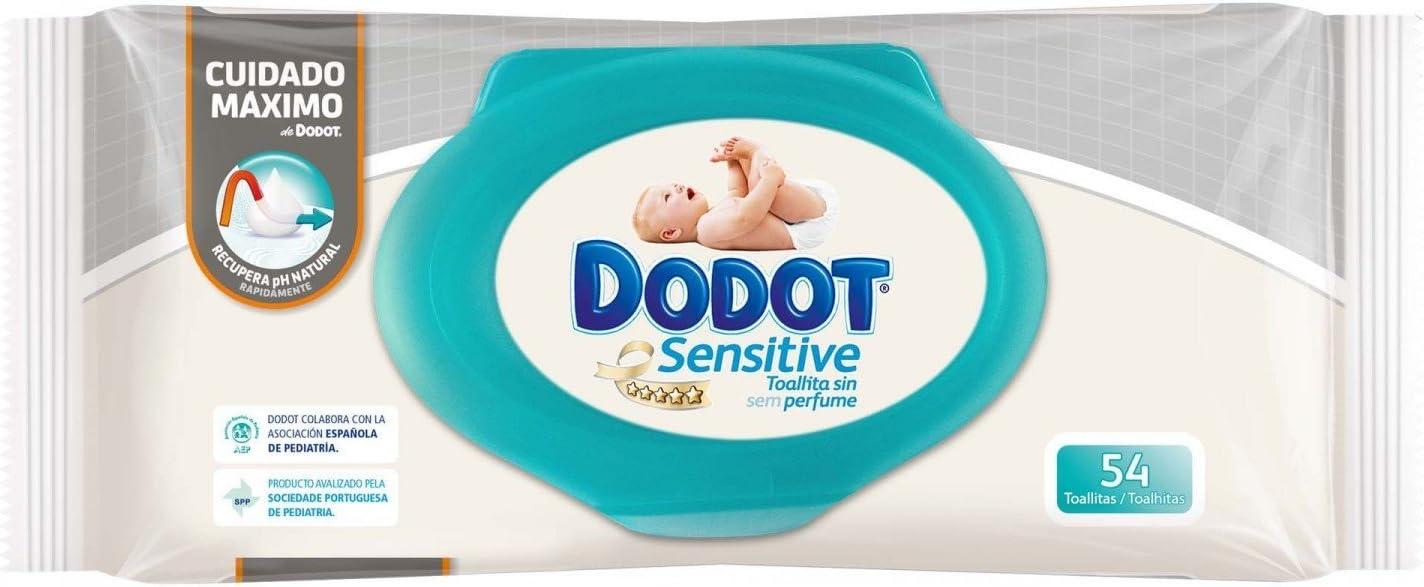 CAJA TOALLITAS DODOT SENSITIVE (15 PAQUETES - 810 UDS): Amazon.es: Bebé
