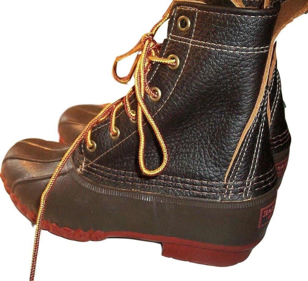 7 M Womens Bean Boots Duck Boots 8 Bison by L L Bean